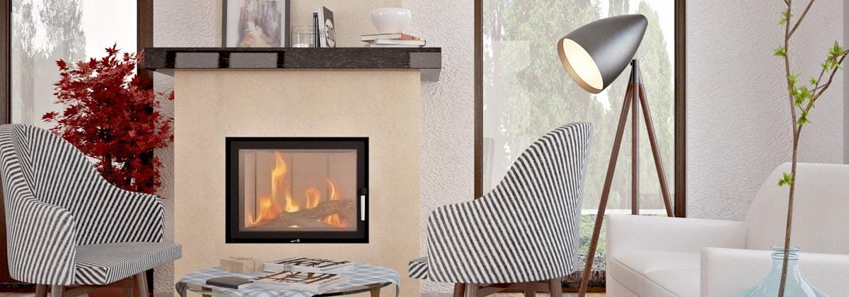 Дизайн помещения с классическим камином
