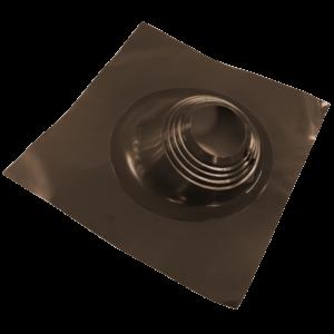 Мастерфлеш 180х280 угловой коричневый для дымохода