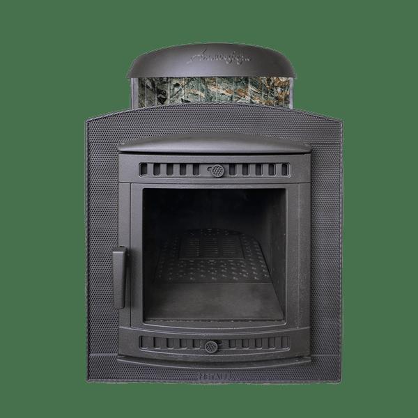 Печка Атмосфера жадеит фасад