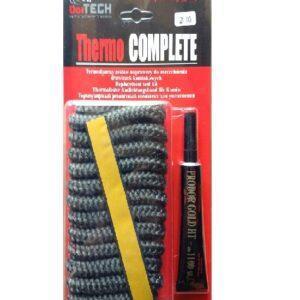 керамический шнур и клей 10 мм